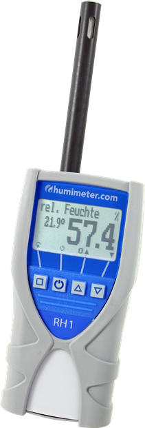 humimeter RH1 Moisture meter for humidity in climate and environment applications.